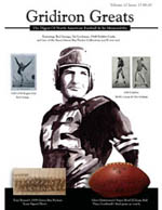 Gridiron Greats Issue 34 Cover