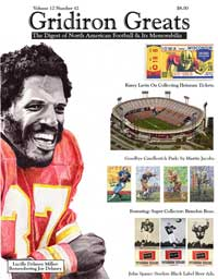 Gridiron greats Issue 42 cover