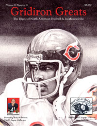 Gridiron Greats Magazine Issue 41 Cover